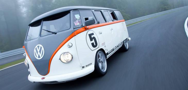 Una Volkswagen T1 potenciada