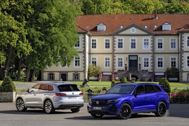 Nuevos Volkswagen Touareg R y Touareg eHybrid a partir de 81.220 €