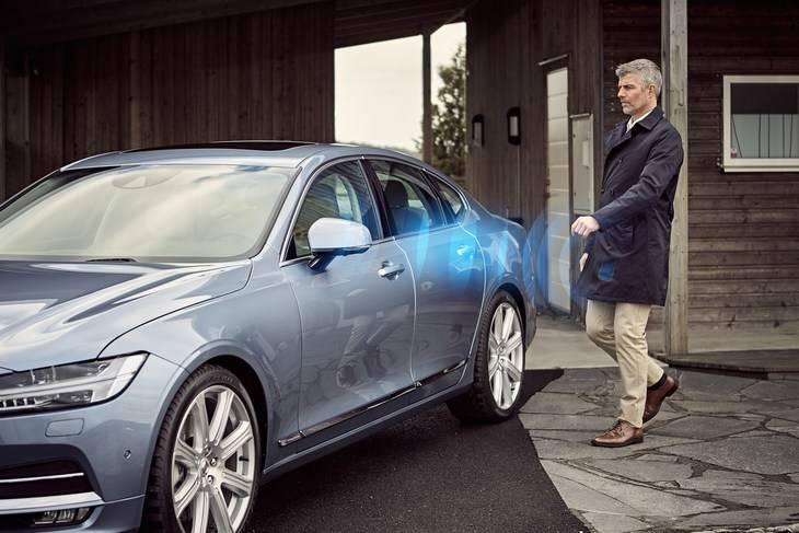 Volvo, el primer fabricante que presenta un vehículo sin llave