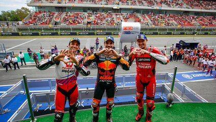 Gran actuación de Oliveira para ganar el Gran Premio de Cataluña