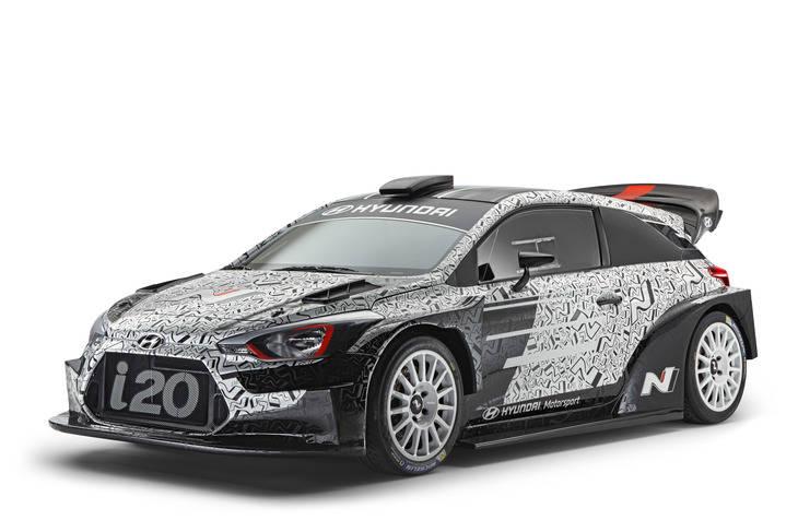 Hyundai Motorsport desvela su nuevo coches de rallye para el WRC 2017