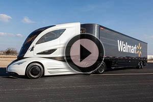 El camión futurista de Walmart