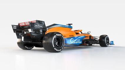 Presentación del McLaren MCL35M para 2021