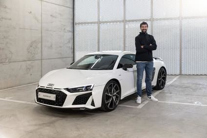 Audi entrega sus coches a los jugadores del Real Madrid de Baloncesto