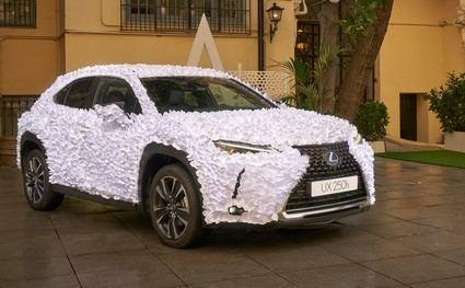 """Lexus muestra """"Jardín Zen"""", ganador de la 2ª edición de UX Art Car 2021"""