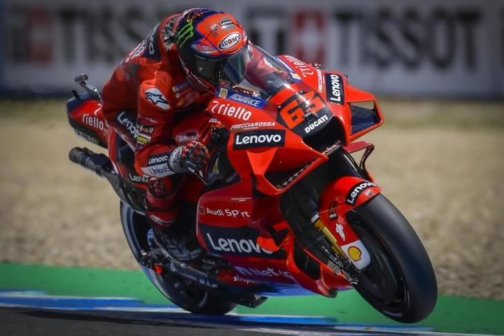Bagnaia manda el primer día de GP de España