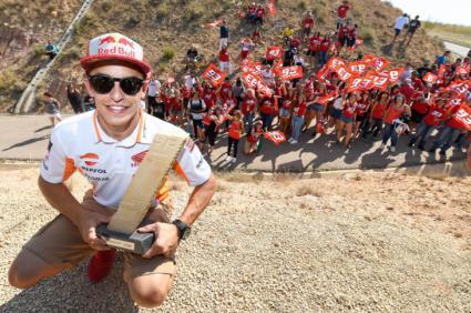 Gran Premio de Aragón y la curva de Márquez