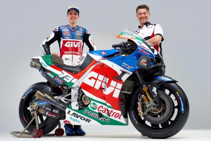Presentación del equipo LCR Honda Castrol de MotoGP