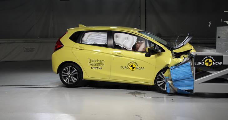 Euro NCAP conmemora 20 años con las valoraciones de choque
