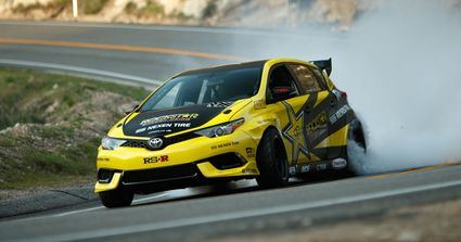 Toyota Corolla en la Fórmula Drift