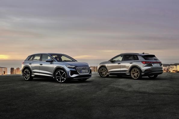 El Audi Q4 e-tron y el Audi Q4 Sportback e-tron son los primeros SUV eléctricos compactos de la marca desde 44.460 €