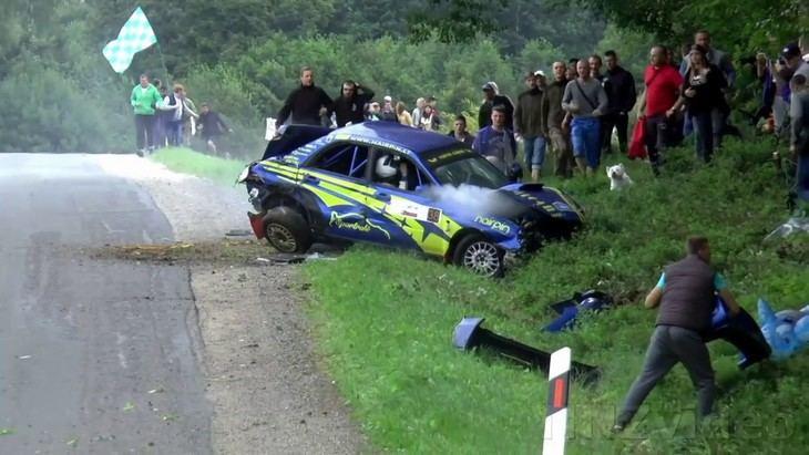 Los accidentes más impactantes de Rally en 2017