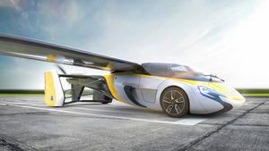 El primer coche volador será presentado el 20 de abril