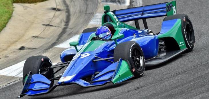 Fernando Alonso hace el test en la Indycar que tenía previsto