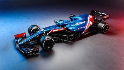 Alpine A521, el precioso monoplaza de Fernando Alonso