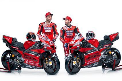 Presentación Ducati Team para el 2020