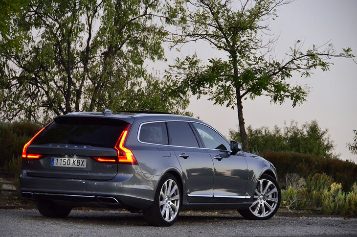 Probamos el Volvo V90 T8 Twin Engine AWD.