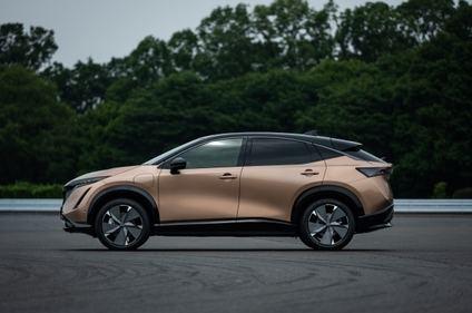 Nuevo Nissan Ariya crossover coupé eléctrico