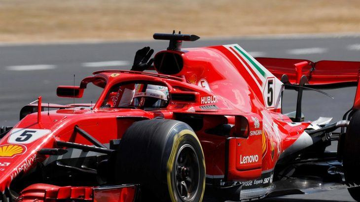 GP de Gran Bretaña: Vettel 1º y Rakkonen destroza la carrera de Hamilton