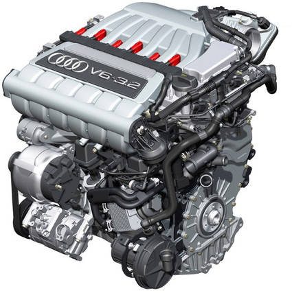 Los motores de combustión de Audi