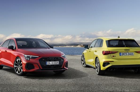 Audi S3 Sportback y el S3 Sedan más potentes con 310 CV desde 53.900 euros