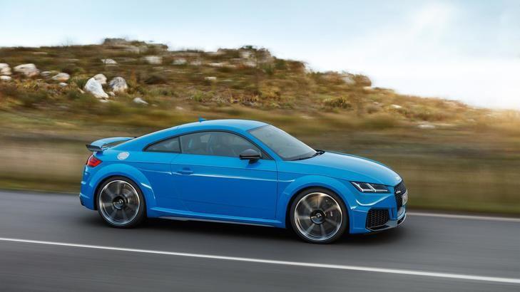 Nuevos Audi TT RS Coupé y Roadster