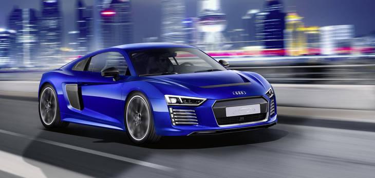 Audi R8 e-tron: circula de forma independiente