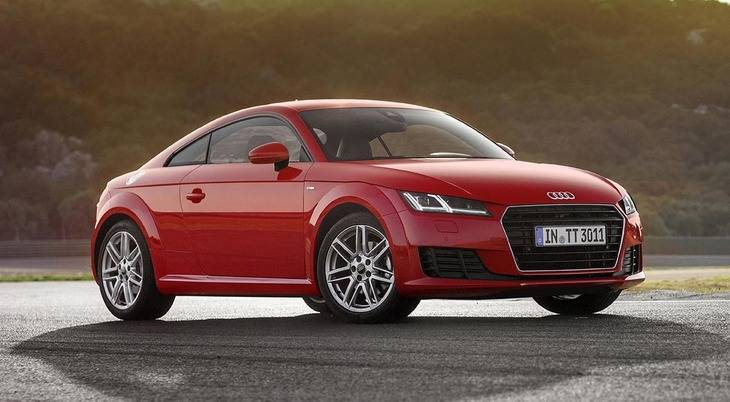 Audi TT 1.8 TFSI: desde 36.620 euros