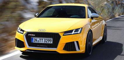 El nuevo Audi TT RS rendirá 395 CV