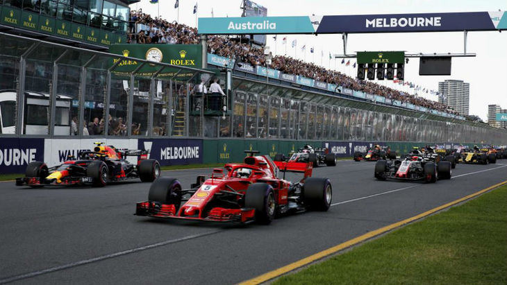 GP de Australia F1: Bottas pasa a Hamilton en la salida y es líder hasta el final