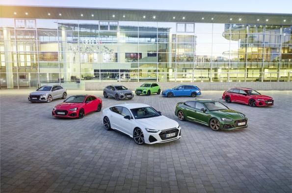 Los Audi RS los más vendidos en su segmento en 2020