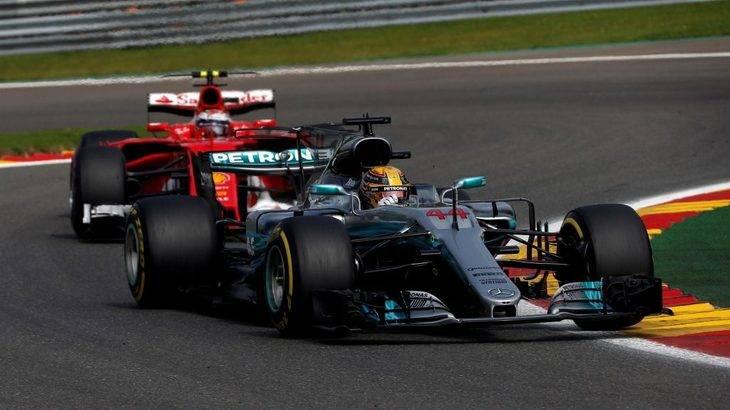 Hamilton no dio opción a Vettel