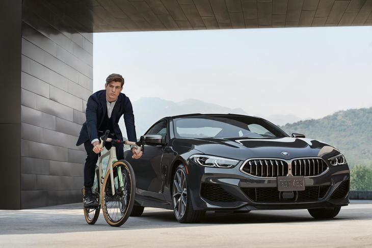 Bicicleta 3T hecha para BMW