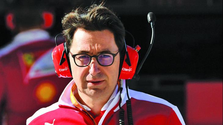 Mattia Binotto un técnico en la jefatura de Ferrari