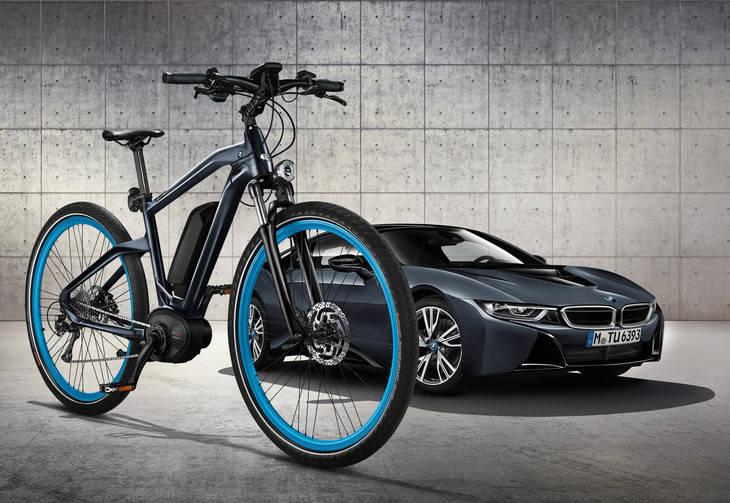 La bicicleta de BMW inspirada en el i8
