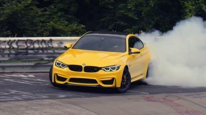 Este es el mejor vídeo del BMW M4 que verás en tu vida