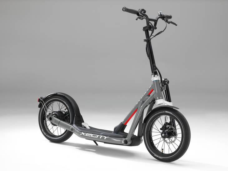 BMW Motorrad X2City Movilidad versátil y sin emisiones