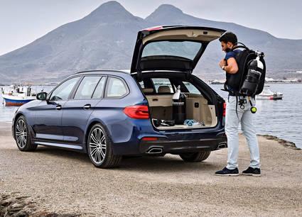 BMW Serie 5 Touring, muy renovado