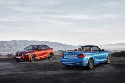Precios para los nuevos BMW Serie 2 y Serie 2 Cabrio