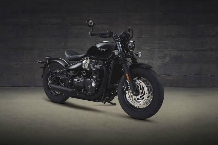 La Triumph Bonneville Bobber Black ya tiene precio para España