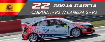 Borja García coloca dos veces a Teo Martin Motorsport en el podio