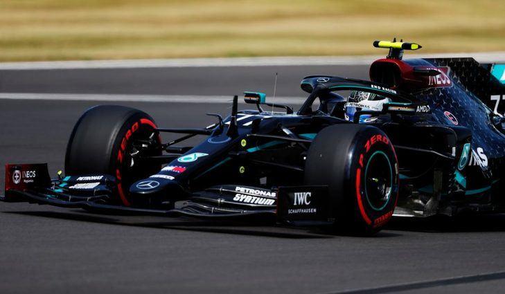 GP 701 Aniversario F1 2020: Pole de Bottas en el baile de neumáticos