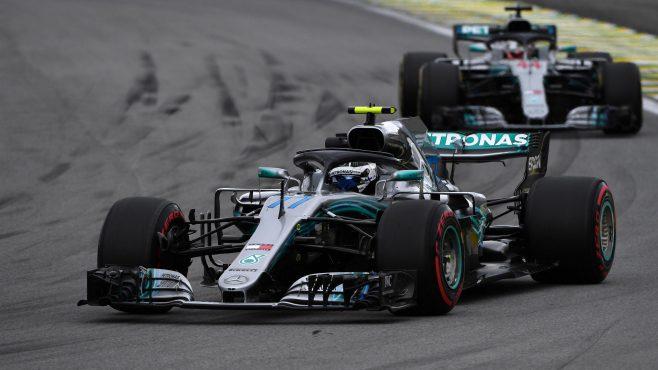GP de Brasil de F1: Bottas, Hamilton y Vettel muy igualados