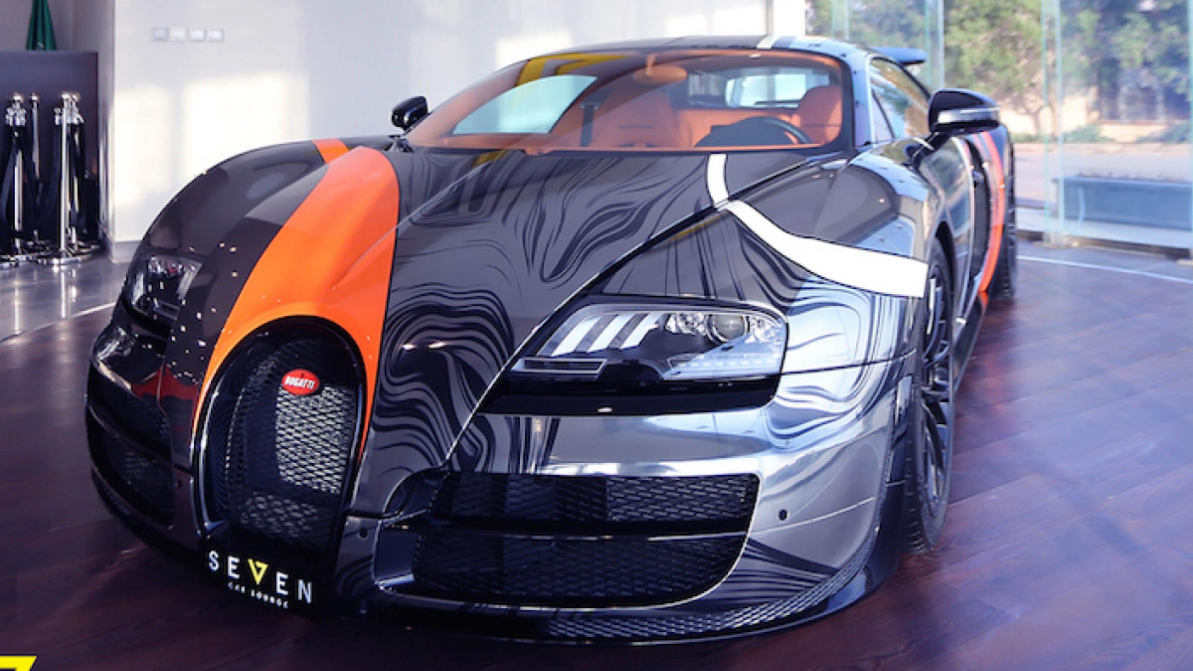 un bugatti veyron supersport muy especial revista de coches. Black Bedroom Furniture Sets. Home Design Ideas