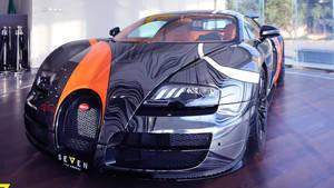 Un Bugatti Veyron Supersport muy especial