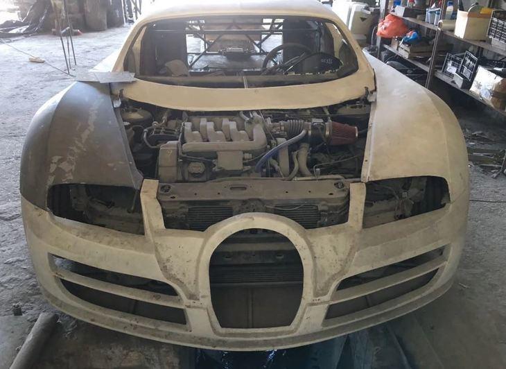 Esta réplica de Bugatti Veyron cuesta apenas 4.000 dólares