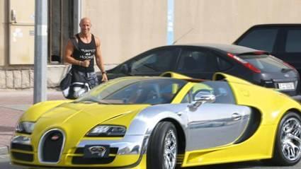 ¿Te imaginas pedir un Uber y que aparezca un Bugatti Veyron?