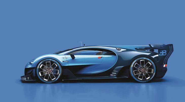 Bugatti Vision Gran Turismo: Espectacular