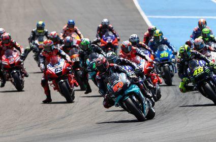 El calendario de MotoGP se actualiza con 15 Grandes Premios