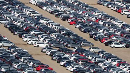 Bajan las ventas de coches